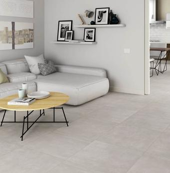 Piastrelle in gres porcellanato idee per la casa marazzi - Pavimenti interni moderni chiari ...