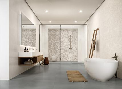 Mattonelle per bagno: ceramica e gres porcellanato marazzi