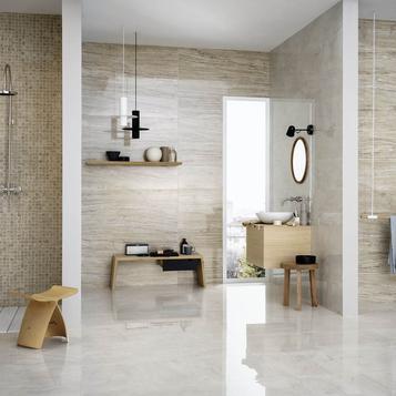 Gres Porcellanato Effetto Marmo per Bagno | Marazzi