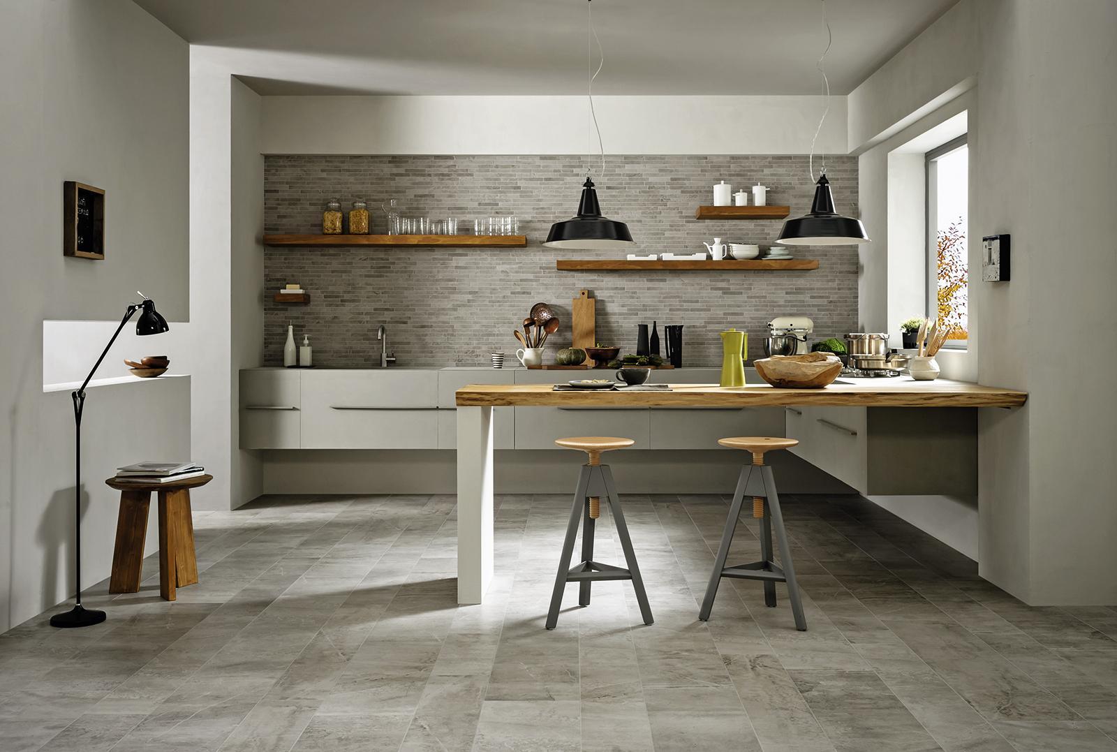 Pavimento cucina effetto pietra cucina effetto pietra gallery of