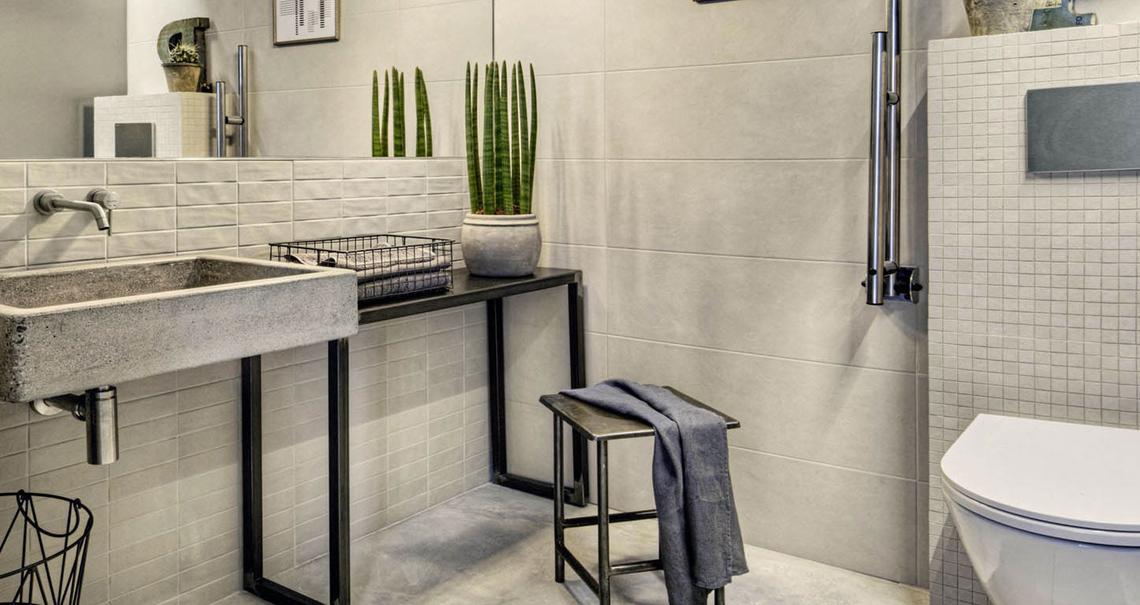 Chalk rivestimento effetto cemento marazzi - Ceramiche per bagno marazzi ...