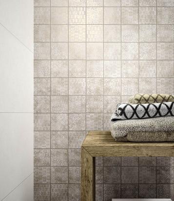 Piastrelle per salotto formato mosaico marazzi - Piastrelle salotto ...
