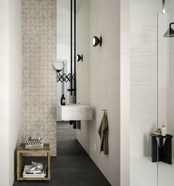 Piastrelle per bagno colore bianco marazzi for Marazzi bagno