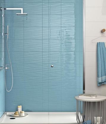 Piastrelle per bagno colore azzurro marazzi - Colore piastrelle bagno ...