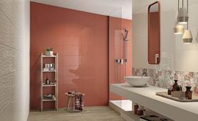 Piastrelle rosse per cucina latest piastrelle per pavimenti with