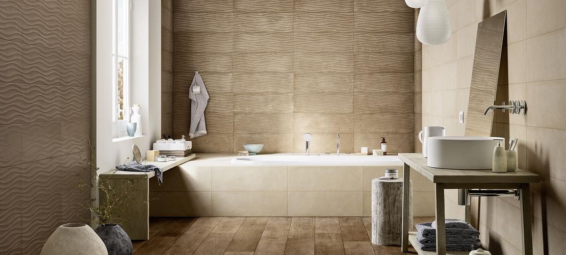 clayline rivestimento per bagno