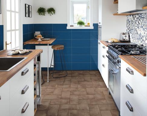 Abbinare il pavimento al rivestimento della cucina foto design mag