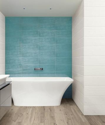 Piastrelle per bagno colore azzurro marazzi - Finitura piastrelle bagno ...