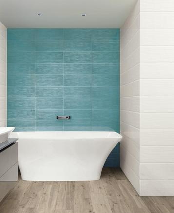 Piastrelle azzurro guarda le collezioni marazzi - Mosaico azzurro bagno ...