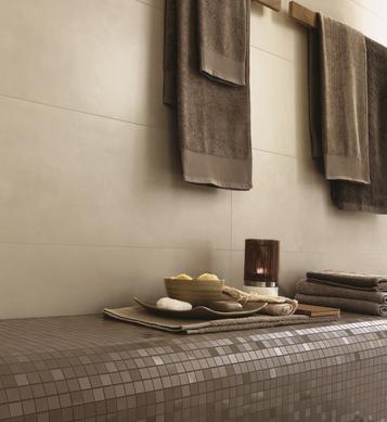 Gres porcellanato effetto cotto e cemento per cucina marazzi - Piastrelle effetto cemento ...