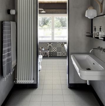 Mattonelle per bagno ceramica e gres porcellanato marazzi - Mattonelle per scale ...