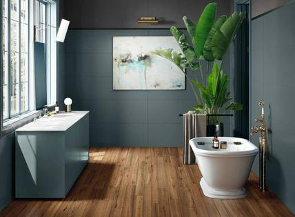 Piastrelle verdi bagno: realizzare un bagno verde e lasciarsi