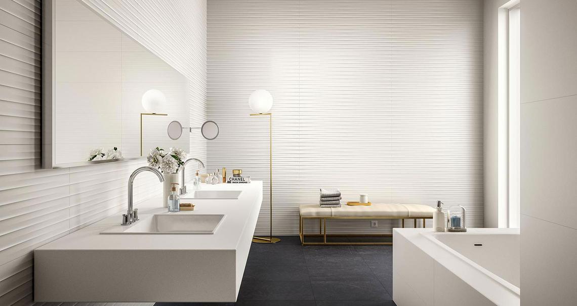 Essenziale - Ceramica bianca per bagni | Marazzi