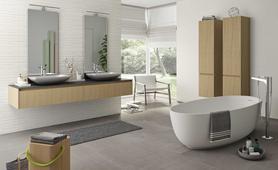 Essenziale ceramica bianca per bagni marazzi