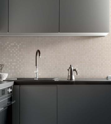 Piastrelle a mosaico per bagno e altri ambienti marazzi - Piastrelle esagonali cucina ...