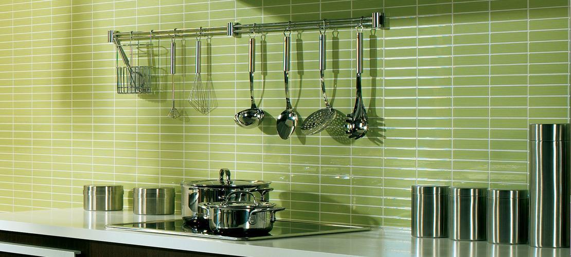 idee per le pareti della cucina verde acqua sulle pareti ...
