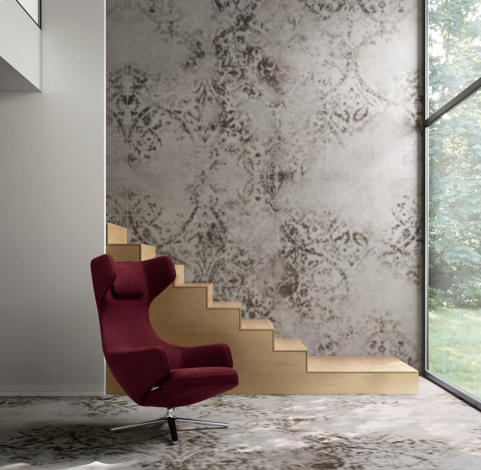 Grand carpet design cpv - Effetto Cotto e Cemento - Salotto