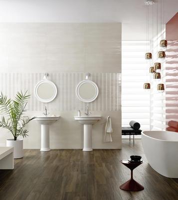 Piastrelle per bagno colore rosso marazzi - Colore piastrelle bagno ...