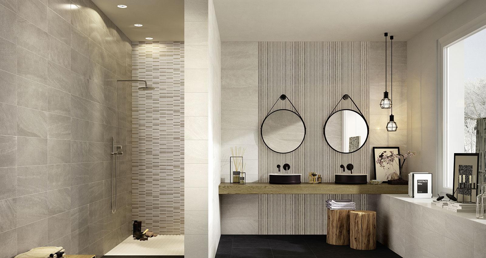 Interiors rivestimento bagno e cucina marazzi - Rivestimento bagno design ...