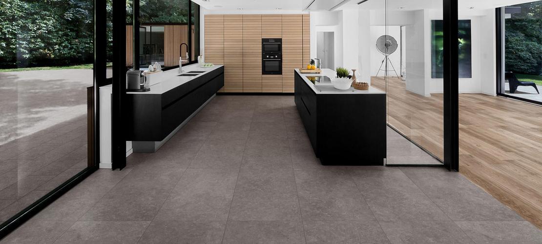 Mystone bluestone gres effetto pietra marazzi for Bluestone flooring interior