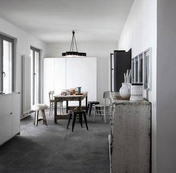 Gres porcellanato effetto pietra per cucina marazzi - Ardesia in cucina ...