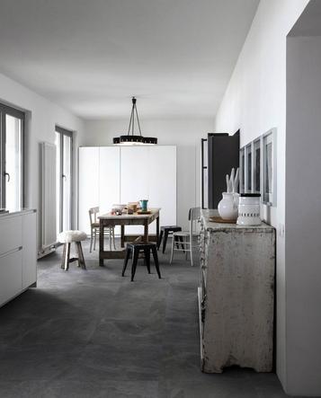 Gres porcellanato effetto pietra per cucina marazzi - Piastrelle cucina pietra ...