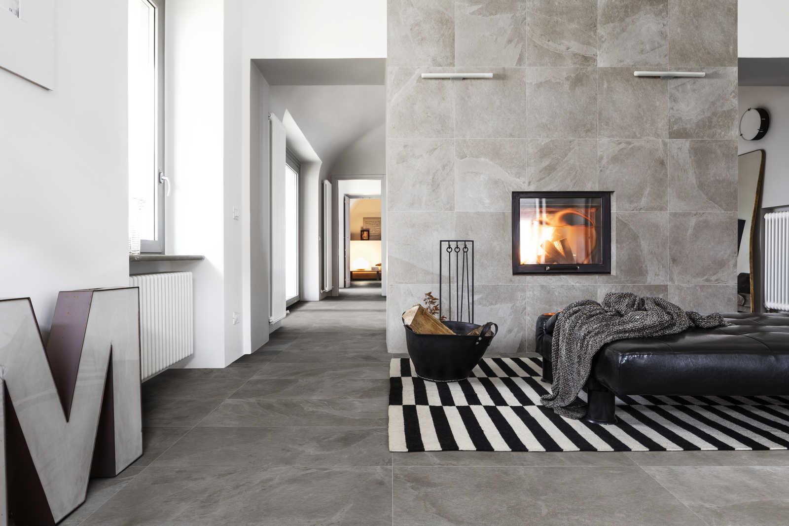 Rivestimenti Bagno In Pietra Ardesia : Rivestimento in pietra ardesia natstone black iperceramica