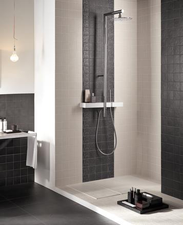 Piastrelle per bagno colore nero marazzi - Piastrelle per bagno marazzi ...