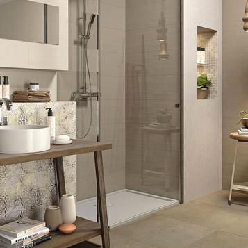 Rivestimenti in bagno scopri le collezioni marazzi - Piastrelle viola bagno ...