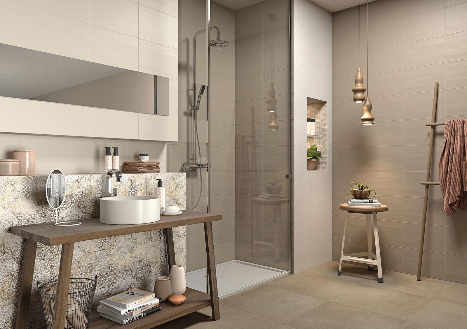 Neutral piastrelle per rivestimento marazzi - Composizione piastrelle bagno ...