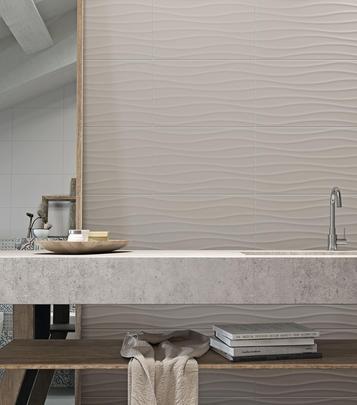 Piastrelle per bagno colore grigio marazzi - Piastrelle per bagno marazzi ...