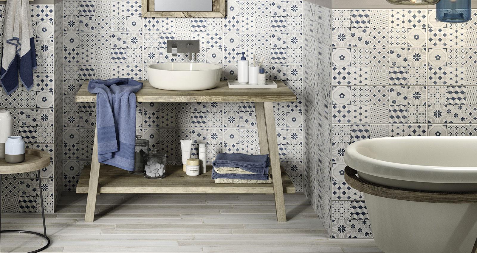 Bagno Legno E Mosaico : Paint rivestimento bagno e cucina marazzi