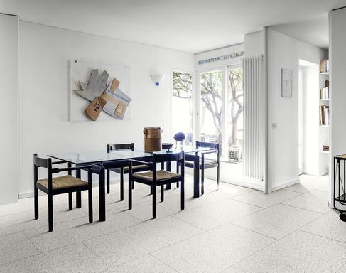 Piastrelle effetto marmo: gres porcellanato effetto marmo melange