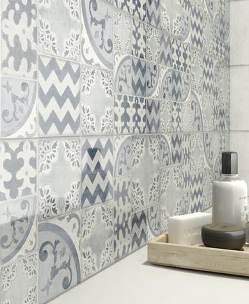 Piastrelle per bagno colore azzurro marazzi - Colore fughe piastrelle ...