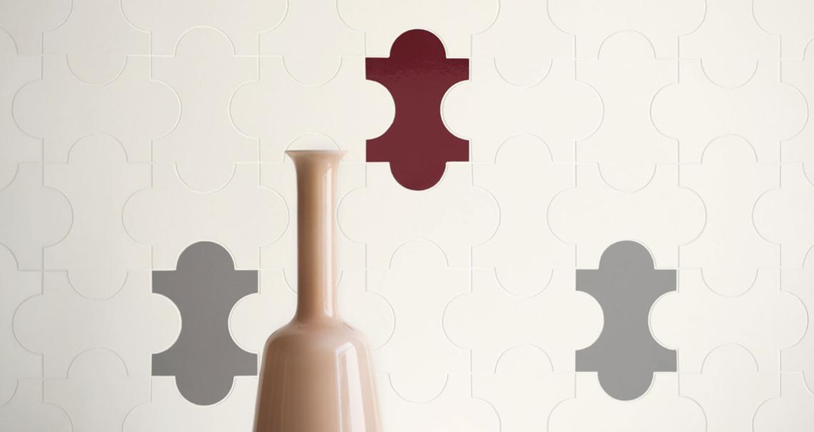 Gio ponti piastrelle progetto triennale ceramica per