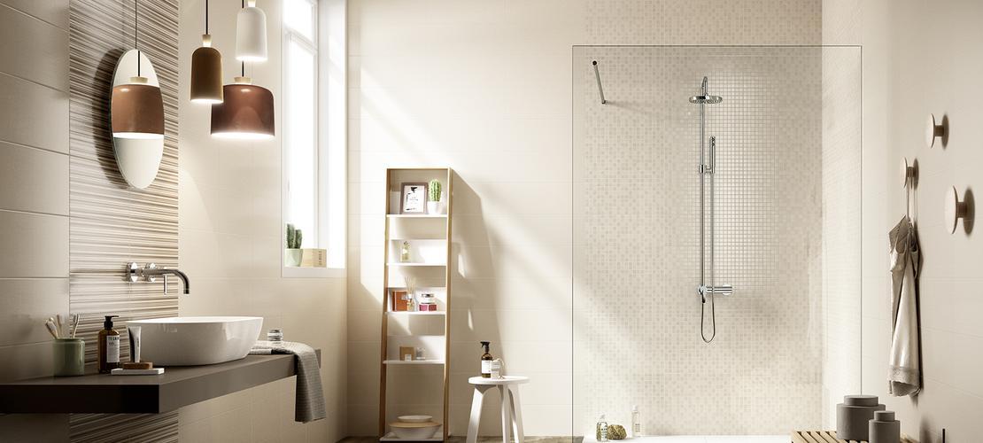 Shine rivestimento colorato marazzi - Piastrelle mosaico bagno marazzi ...