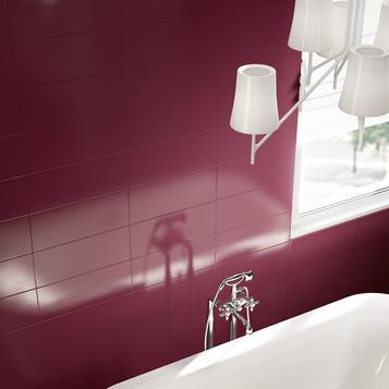 Piastrelle per bagno colore viola marazzi for Arredo bagno viola