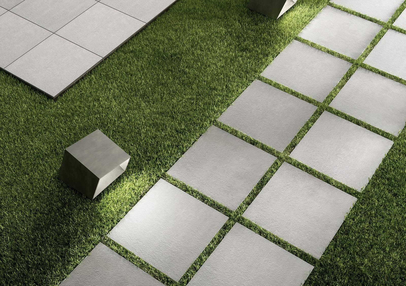 Sistemn20 pavimentazione per esterno marazzi - Piastrelle di cemento da esterno ...