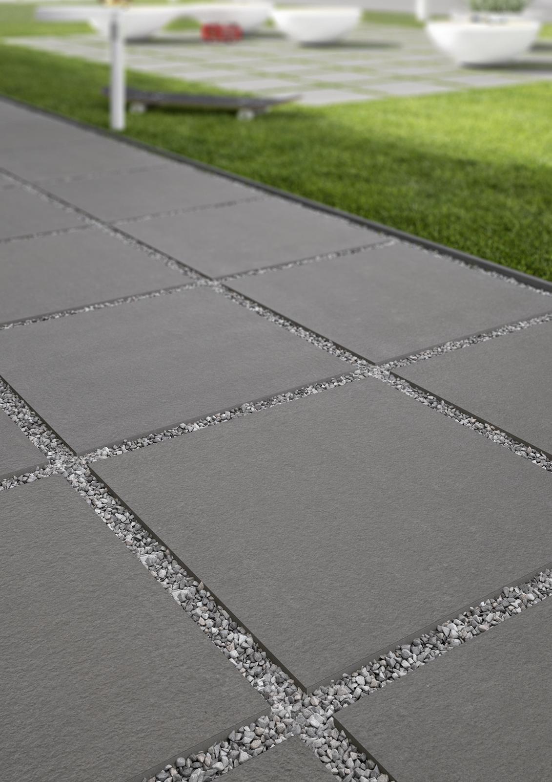 Sistemn20 pavimentazione per esterno marazzi - Piastrelle in cemento per esterno carrabili ...