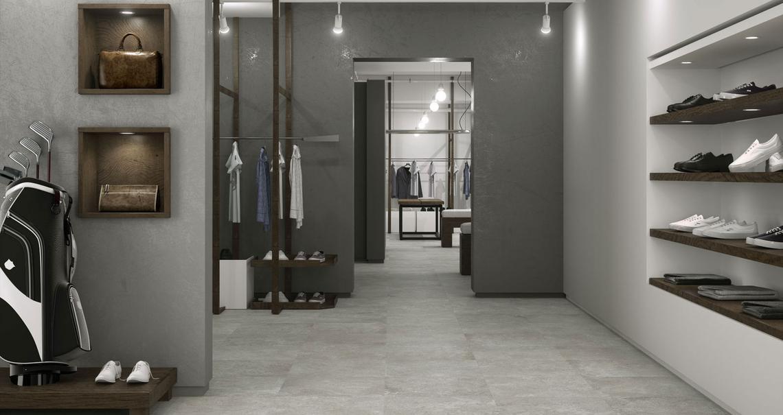 Tailor gres effetto pietra per interni marazzi