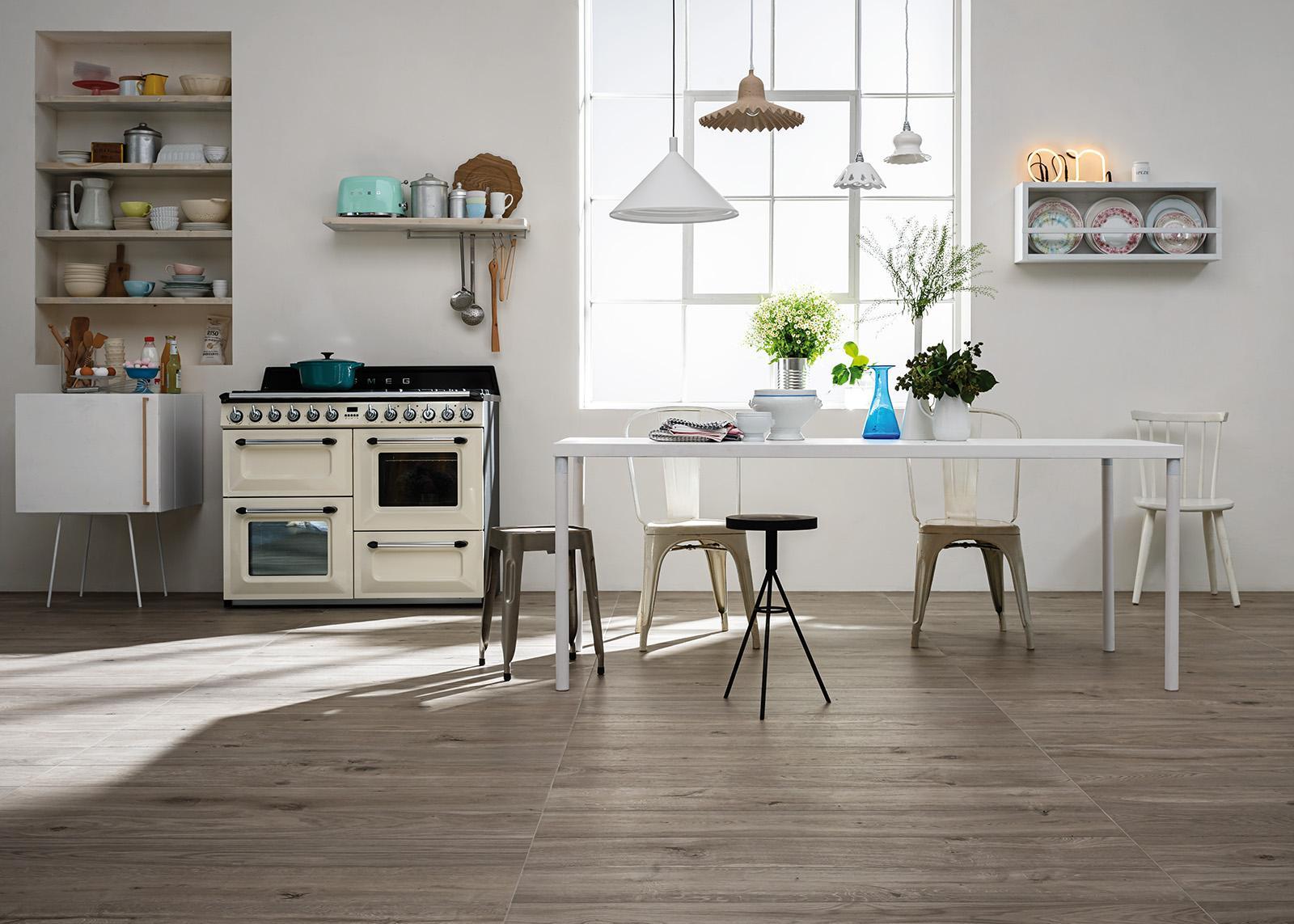 Pavimento in cucina: scopri le collezioni marazzi