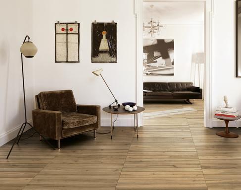 Pavimenti Per Interni Moderni Lucidi. Gres Effetto Pietra Rustica ...