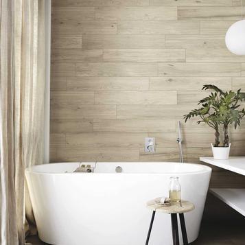 Bagno Moderno Con Pavimento Effetto Legno.Gres Porcellanato Effetto Legno Per Bagno Marazzi