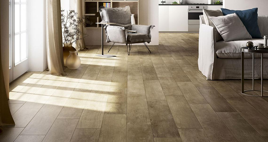 Treverktime – Gres pavimento effetto legno | Marazzi
