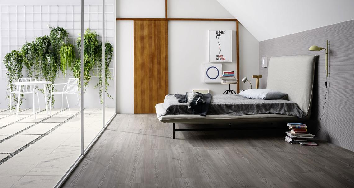 treverktrend effetto legno rovere marazzi. Black Bedroom Furniture Sets. Home Design Ideas