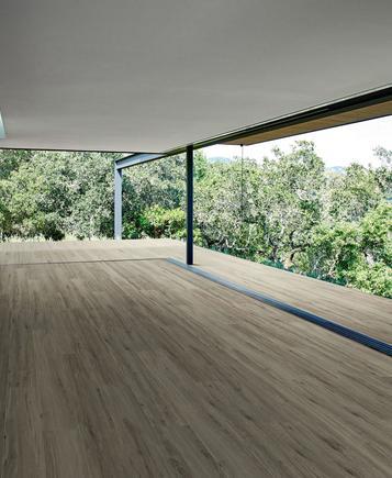 Pavimenti per esterni piastrelle gres porcellanato marazzi - Gres porcellanato effetto legno da esterno ...