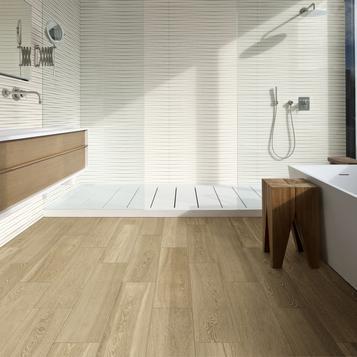 Gres porcellanato effetto legno per bagno marazzi - Bagno finto legno ...