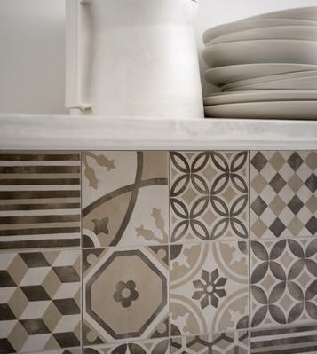 Gres porcellanato effetto cotto e cemento formato piccoli for Marazzi cotto antico