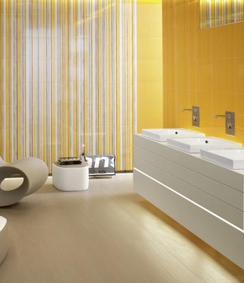 Piastrelle giallo formato mosaico marazzi - Piastrelle maxi formato ...
