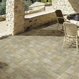 Risultati immagini per pavimento in gres porcellanato per esterni 15x15